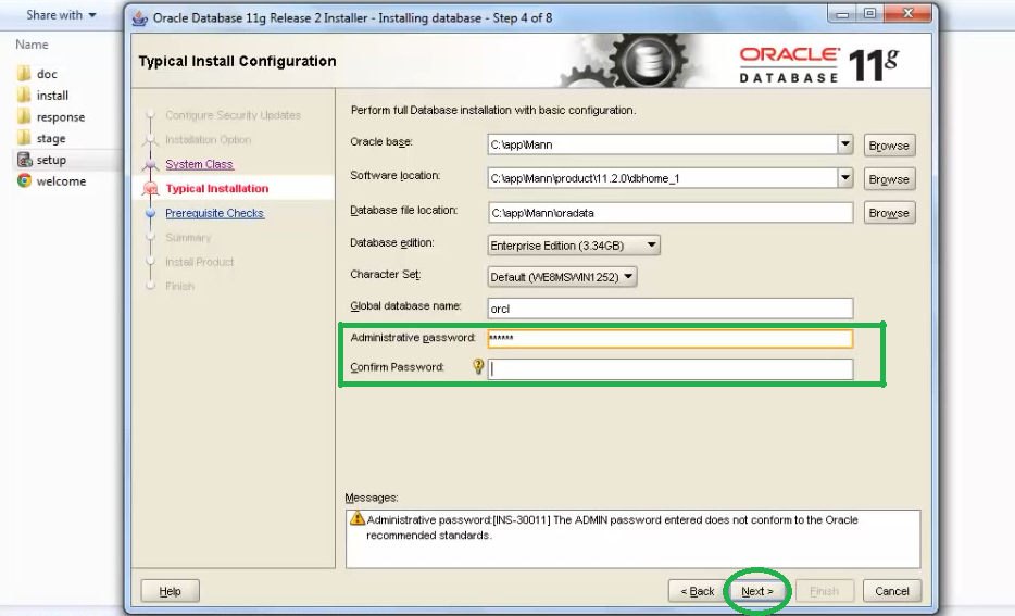 how to create spool file in oracle 11g