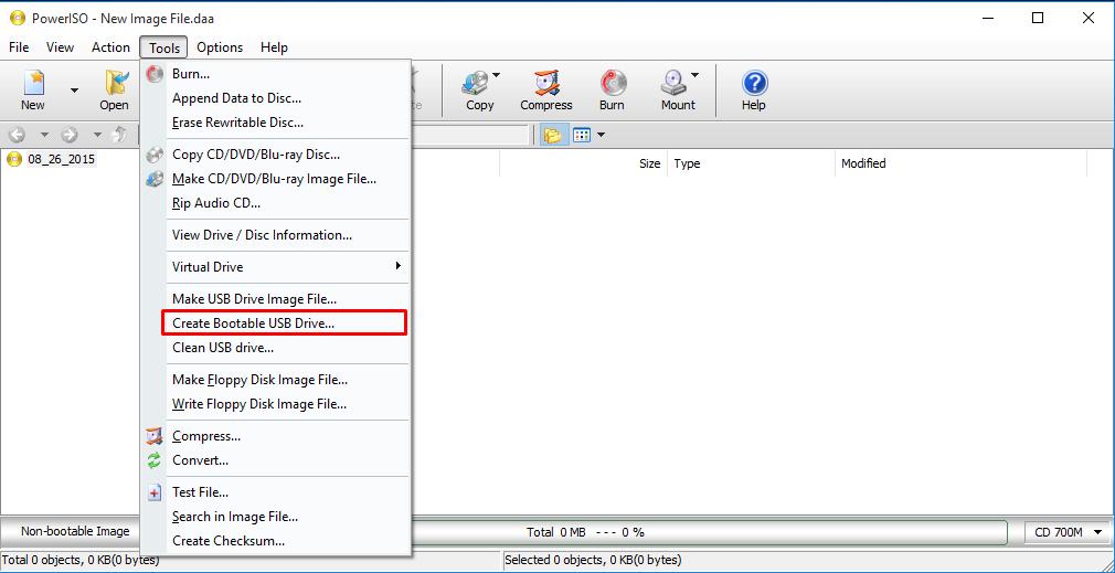 bootable flash drive