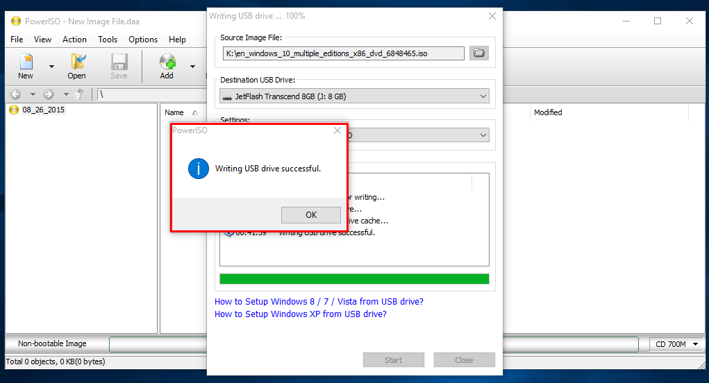 how to create a bootable flash drive