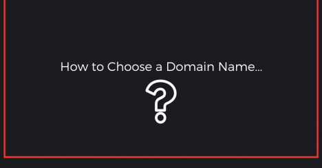 how to choose a domain name for affiliate marketing